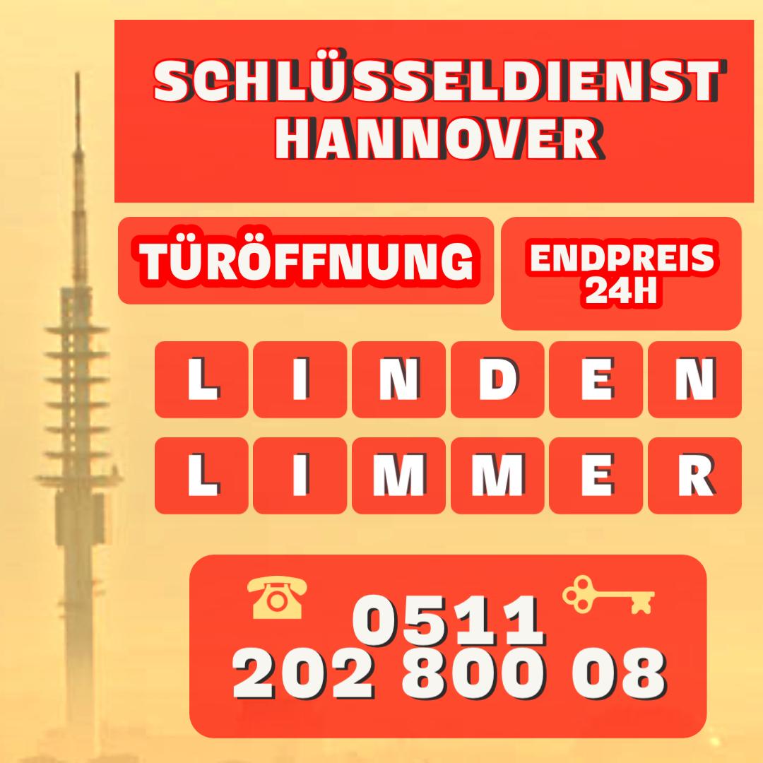 Schluesseldienst Hannover Festpreis Linden Limmer